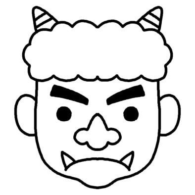 【54枚】節分イラスト集!(鬼・豆)