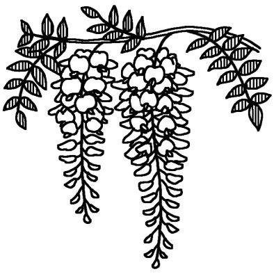 春の花 無料 白黒イラスト素材 ... : かわいい塗り絵 : すべての講義