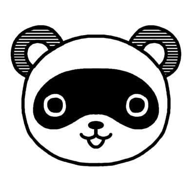 タヌキ(狸)/動物の顔/動物/無料 ...