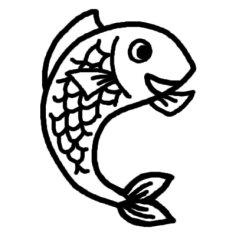 Cobra Outline : ぬりえ 魚 : すべての講義
